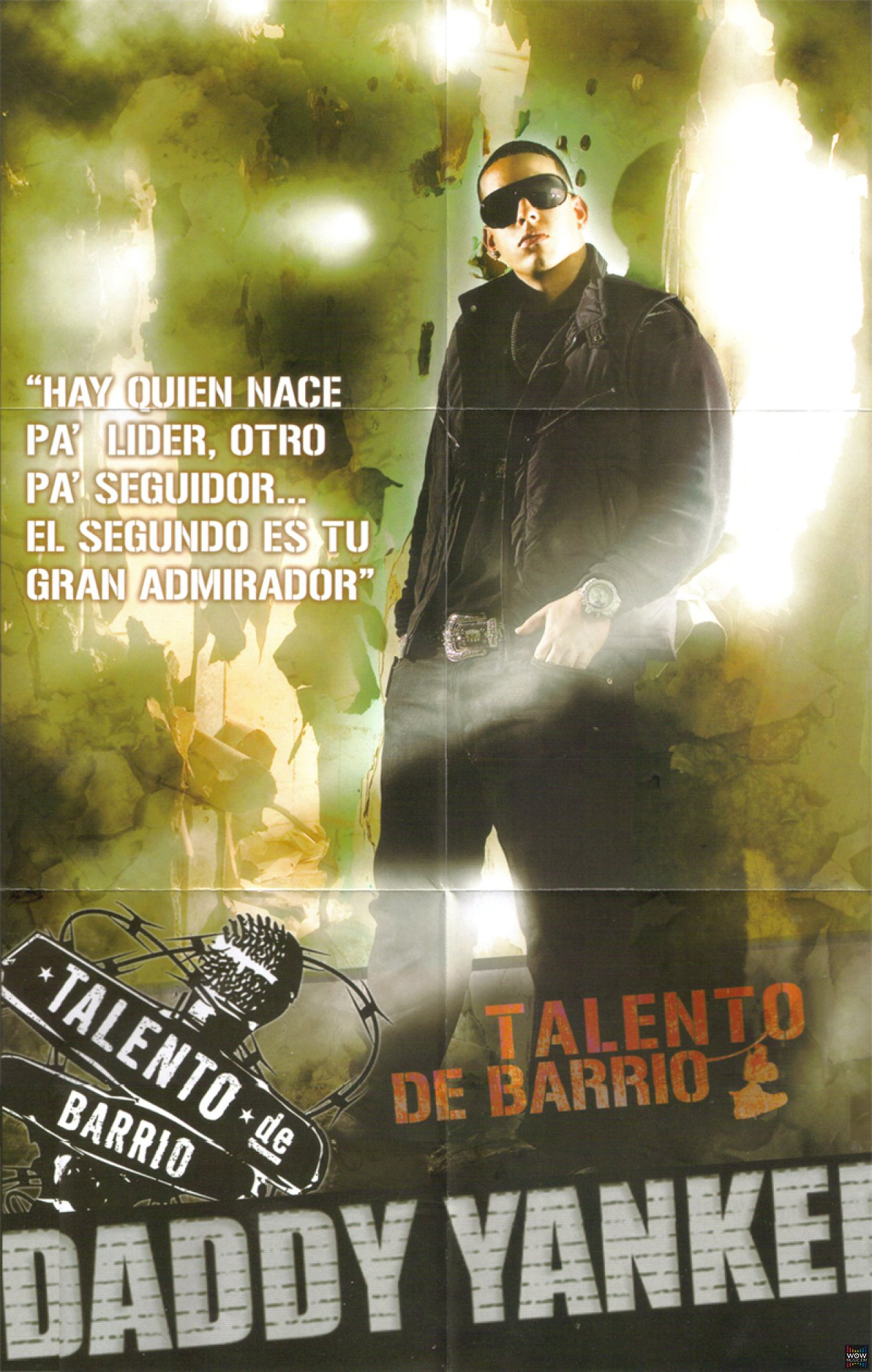 Daddy Yankee Talento De Barrio Poster Gallery Daddy Yankee Wowmusic Fm Musica Latina