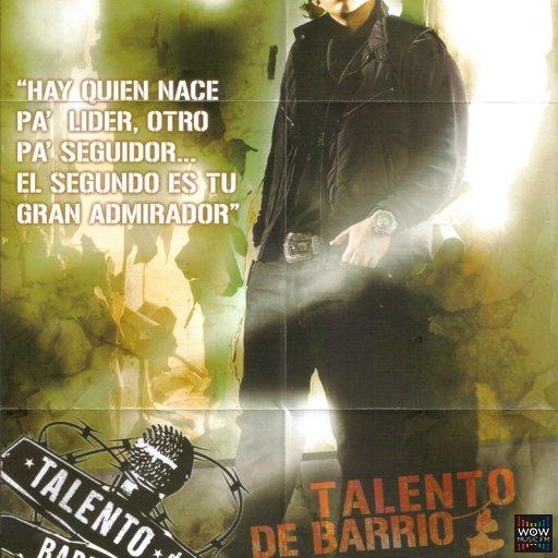 Daddy Yankee - Talento De Barrio (POSTER)
