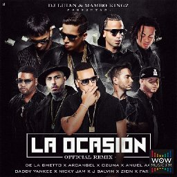 La Ocasion (Official Remix) Ft. De La Ghetto, Arcangel, Anuel AA, Daddy Yankee, Nicky Jam, Farruko, J Balvin y Zion